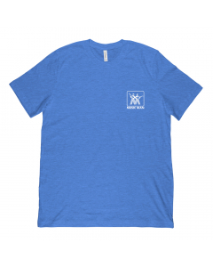 Music Man Vintage Logo Blue T-Shirt