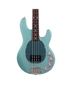 Ernie Ball Music Man Neck Through StingRay Bass - Dorado Green