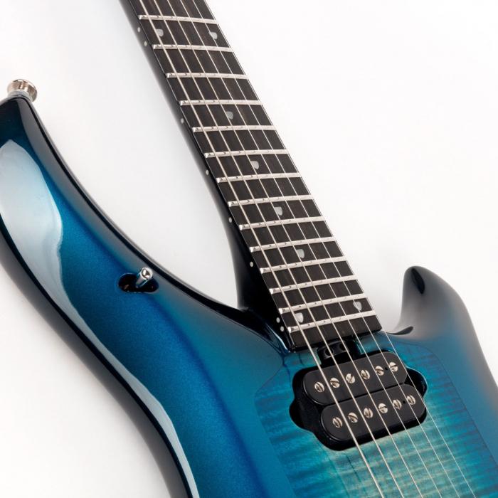 Ernie Ball Music Man Majesty 6 String Colossus Blue Chrome Hardware