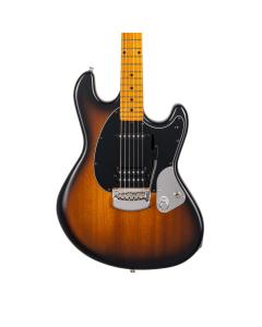 Ernie Ball Music Man Dustin Kensrue StingRay Guitar - Dark Satin Tobacco Burst