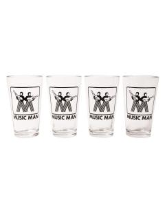 Music Man Pint Glasses (Set of 4)
