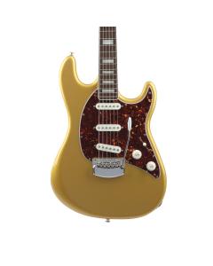 Ernie Ball Music Man Cutlass SSS Guitar - Gold