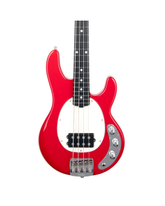 Ernie Ball Music Man Short Scale StingRay Bass - Scarlet Red